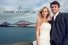 Iconic Scottish landmarks in our advertising.  www.dhjewellery.com