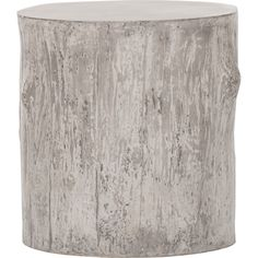 Tree End Table, Grey