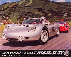 Rare RS60 poster Seinfeld, West Coast, Cool Cars, Porsche, F1