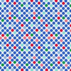 Tante Ema Caramelle di zucchero 6 - blu reale - Tessuti per bambini - ragazze - Tessuti per bambini Tante Ema - Tessuti in cotone a pois - Tante Ema - Tessuti - tessuti.com