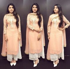 combination with dark pink colour punjabi suits Dress Indian Style, Indian Fashion Dresses, Pakistani Dresses, Indian Outfits, Punjabi Suits Designer Boutique, Indian Designer Suits, Patiala Suit Designs, Kurti Designs Party Wear, Indian Attire
