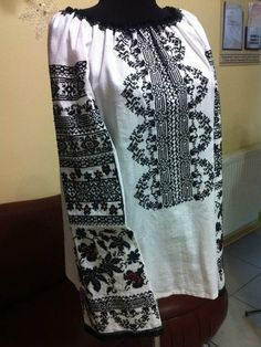 Blouse embroidery handmade. Ukrainian Embroidery. Women by shopUNC