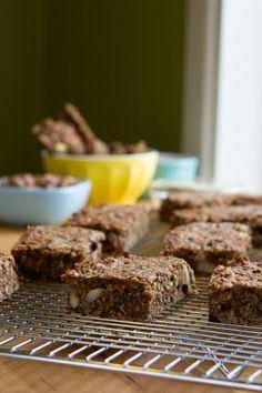 Grain-free Chai Granola Bars by Healthful Pursuit