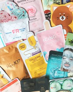 K-Beauty Face Masks – Subscription Box – face mask K Beauty, Beauty Care, Beauty Skin, Face Beauty, Natural Beauty, Beauty Tips, Beauty Hacks, Skin Care Routine For Teens, Healthy Skin Care