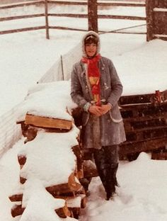 How chopping firewood as a little girl, taught me all about hospitality.