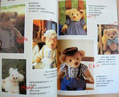 I love sewing for my 18 inch doll American Girl Dolls - Emily and Kit. I also love crochet, copperplate calligraphy and papercraft. Book Crafts, Arts And Crafts, Paper Crafts, Diy Teddy Bear, Copperplate Calligraphy, Bear Patterns, Toy Craft, Love Sewing, Love Crochet