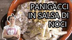 Panigacci in salsa di noci-Piatti tipici regionali_ Crepes, Salsa, Food, Pancakes, Salsa Music, Meals, Pancake, Yemek, Eten