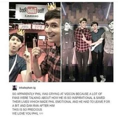 DAN AND PHIL ARE MY SONS AND DADS<<< XDDD