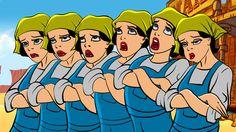 """Animationtest """"Lucy ist gelangweilt"""""""