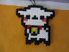 Kawaii sheep in Hama Beads by on DeviantArt