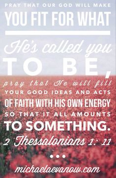2 Thessalonians 1:11