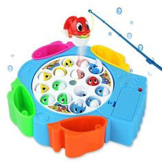 Kids Educational Fishing Musical Toys Set