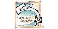 5th Annual Shore Break 5K and Tide Pool Fun Run l May 30, 2016 - Avon, NC l Outer Banks Running Events l www.CarolinaDesigns.com