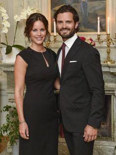 Princess Sofia and Prince Philip on a 2 day Visit to Värmland Sweden