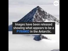 Desvendando Mistérios: Pirâmide Encontrada na Antártida pode mudar a hist...
