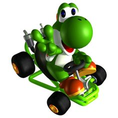 Which Mario Kart Character Should You Actually Play With. I got Yoshi!! Good, because that's who I play with