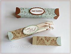 Bettys-creations: Waffelröllchen-Box mit Anleitung