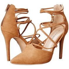 C Label Liberty-17 (Camel) High Heels ($45) ❤ liked on