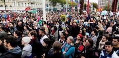 Austria, manifestación solidaria con los inmigrantes - http://www.absolutaustria.com/austria-manifestacion-solidaria-con-los-inmigrantes/