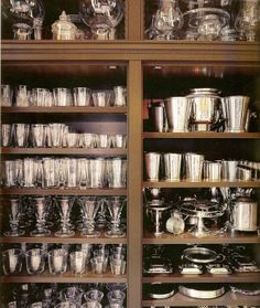 MARTHA MOMENTS - Gorgeous storage of silver and glassware