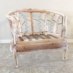 Diamond Tufted Chair Refinish - 38