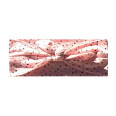 The pink dotted bandana is a stylish headband made from comfortable stretch fabric. The headband is designed with your little one's comfort in mind and will not leave marks on their precious head.