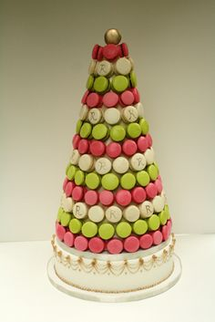 Macaron tower... think this will be my wedding cake!