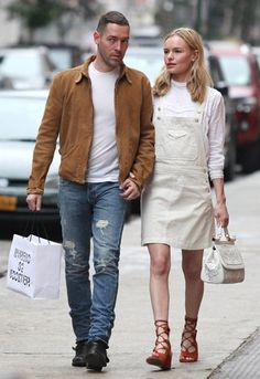 Look of the week goes to Kate Bosworth. TOPSHOP