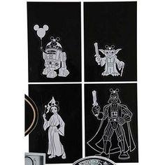 Disney Auto Window Decal Set - Star Wars Weekends 2013 Logo