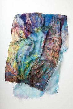 Layered Dreamscape Scarf  #anthropologie