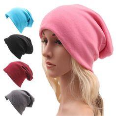 b3e1f06ecce Skully Beanies Hat Ladies Autumn and Winter Unisex Hat Women Hooded Casual  Cap Turban Thin Hip