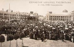 1.909 El 22 de Mayo se inauguró la Exposición Regional Valenciana con la asistencia del Rey Alfonso XIII