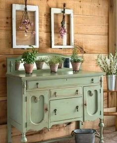 painted furniture - painted dresser #shabbychicdressersideas