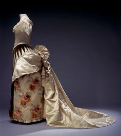 Worth evening dress, 1886 From the Centraal Museum via...