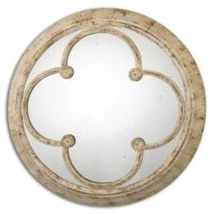 Check out the Uttermost 13884 Livianus Round Metal Mirror
