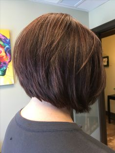 Copper-brown bob