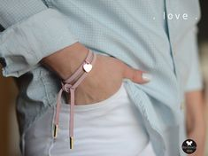 bransoletki - inne-mini pink love