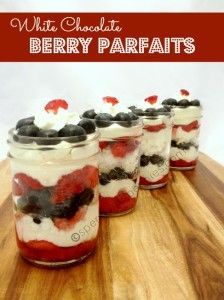Love it?  Pin it!  (Just click the photo)  Follow Spend With Pennies on Pinterst for more great recipes!  This is a delicious summer dessert that is simple to prepare and looks pretty for any gathering!  Fresh berries mixed with a rich creamy white...