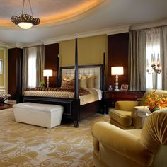 Taylor and Taylor - architects and interior designers - Contemporary Master Suite