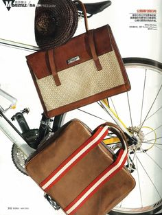 @Harper's Bazaar CHI   With its smart styling, the extremely versatile Bally leather laptop bag has two handles featuring Bally's Trainspotting signature stripe for easy carrying. To be fashion and elgant also during your work time!