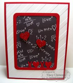 XOXO Card by Tracy Clemente