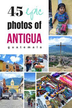 45 Photos of Antigua Guatemala: The City that Stole my <3 | www.apassionandapassport.com