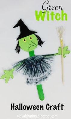 Halloween Witch Craft #halloweencrafts