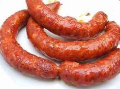 A LOT of sausage recipes! Fresh sausage 1. (Friss kolbász) Ingredients 5 kg ground pork 1 kg fresh pork fat 10 g crushed white pepper 20 g currypowder 3 eggs 200 ml cream 30 g paprika (sweet) 120 g salt Instructions 1. Place meat in a large bowl. 2. Add all ingrediens. Knead by hand to incorporate all seasonings. 3. Refrigrate overnight. 4. Next day, either stuff into sausage casing and freeze them, although they will stay good in the refrigrator for several days, or freeze the rest.