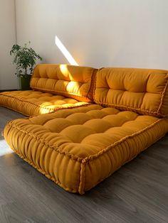 Unique Set of Hemp floor cushions:35