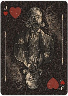 MYSTIFYING PLAYING CARDS by Chris Ovdiyenko --  If you love Tarot, visit me at www.WhiteRabbitTarot.com