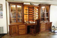 Custom Made Amish Made Custom Gun Cabinet
