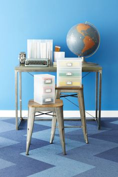 Organize card stock, accessories, paper and more with our Like-it Desktop Collection!