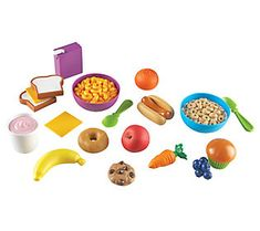 New Sprouts&trade; Munch it! My very own play food<br />The most familiar foods to toddlers! Invite early dramatic play& build vocabulary& model meal time routines and more with soft& durable plastic foods. Toddler (Ages />LER 7711 Set of 20 The Sims, Sims 4, Outdoor Toys For Toddlers, Biscuit, Play Food Set, Play Kitchen Sets, Toy Kitchen, Toddler Kitchen, Play Kitchens