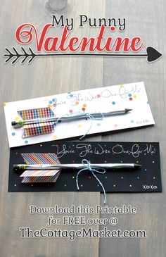 You're The Write One for Me FREE Valentine's Day Printables  GREAT little Valentine Craft!